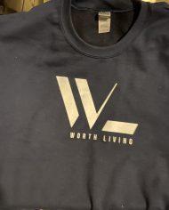 WL New sweat shirt front blue